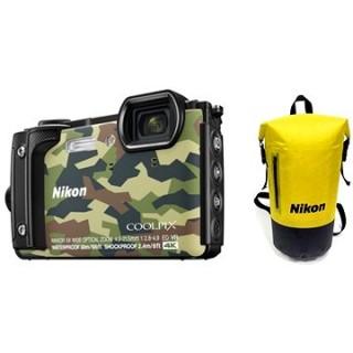 Nikon COOLPIX W300 maskáčový Holiday Kit