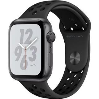 Apple Watch Series 4 Nike+ 44mm Vesmírne čierny hliník s antracitovým/čiernym športovým remienkom Nik