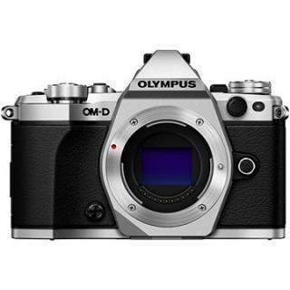Olympus E-M5 Mark II telo + objektív 14 – 42 mm EZ strieborný/čierny