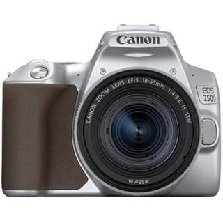 Canon EOS 250D strieborný + 18–55 mm IS STM