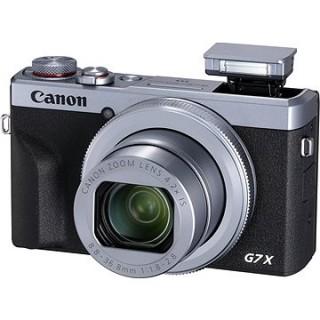 Canon PowerShot G7 X Mark III strieborný
