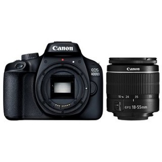 Canon EOS 4000D + 18 – 55 mm DC III