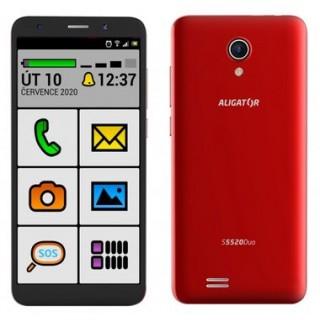 Rozbaleno - Aligator S5520 Senior červená