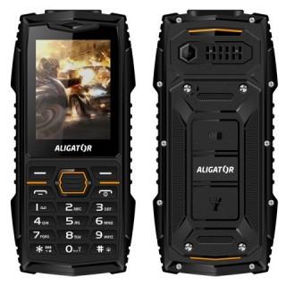 Odolný tlačidlový telefón Aligator R15 eXtremo, IP68, čierna