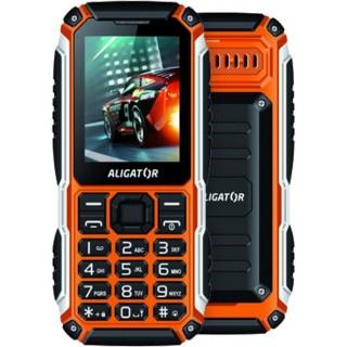 Mobilný telefón Aligator R30 extrémov, Dual SIM, čierno-oranžový