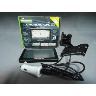 Navigačný prístroj Grundig GPS M5+kr., nab., +držiak moš.,
