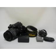 Fotoaparát,Fotopríslušenstvo... Nikon D5000 nab., oš., ošúchaný chýba krytka f:čierna