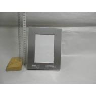 Fotorámik 9x13cm kov+sklo+látka